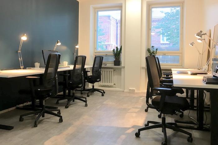 Pienen toimiston uudistus | Helsinki