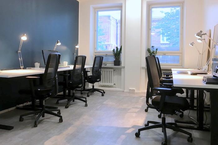 Pienen toimiston sisustussuunnittelu | Helsinki
