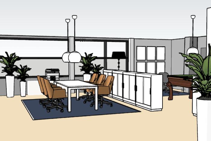150 m² toimiston suunnittelu | Vantaa