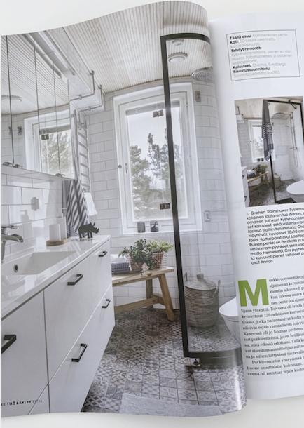 Suunnittelukohde Keittiö & Kylpy Extra 2/20 -lehdessä | KT, Helsinki